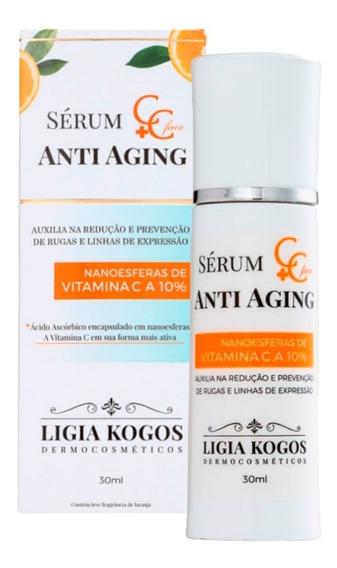 Sérum Anti-aging C+c Vitaminac Ligia Kogos Alta Concentração