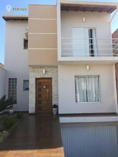 Imagem 1 de 29 de Casa À Venda, 221 M² Por R$ 690.000,00 - Condomínio Ilha Das Águas - Salto/sp - Ca0980