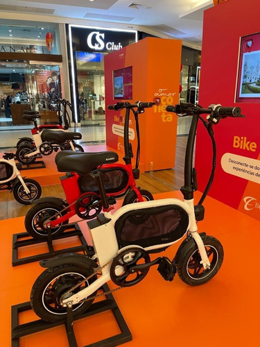 Mini Bike Elétrica Xiaobei Nova C/nf Desmontada Branca