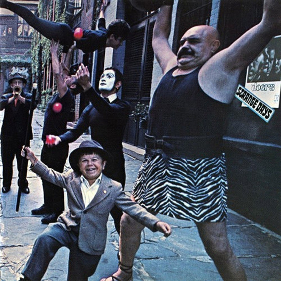 The Doors Strange Days Disco Lp Vinilo Igual Nuevo