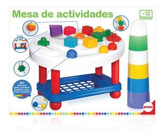 Mesa De Actividades Didactica 6 En 1 Bebe Antex F5152 Edu