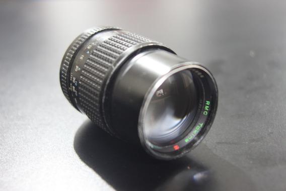 Lente Rmc Tokina 135mm 2.8 Md Minolta P/ Nikon Ou Canon