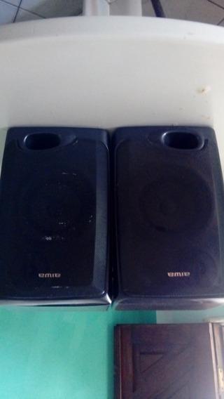 Par De Caixas Acústicas Aiwa Speaker System 2 Vias