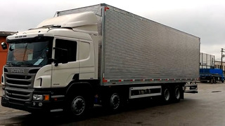 Scania P310 8x2 Condições Especiais 20% Entrada + Financ