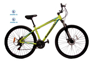 Bicicleta Rodado 29 Mountain Bike Shimano Aluminio 21v Promo