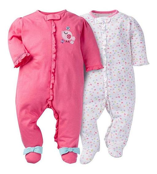 Pijama Bebe Gerber Original Niña Recién Nacido 0 Mes Birdie