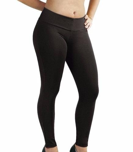 04490f38c Calça Legging Preta Lisa Suplex - Linda - Preço De Atacado - R$ 27,19 em  Mercado Livre