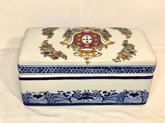 Joyero Alhajero Decorativo Oriental Cerámica A2