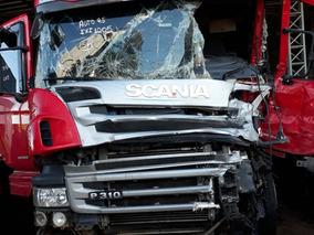 Sucata Scania P310 B8x2 2016 Para Venda De Peças Usadas
