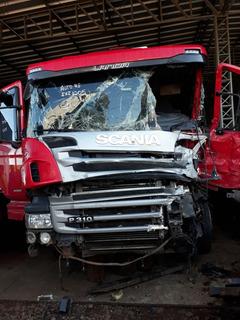 Sucata Scania P310 8x2 2016 Venda De Peças