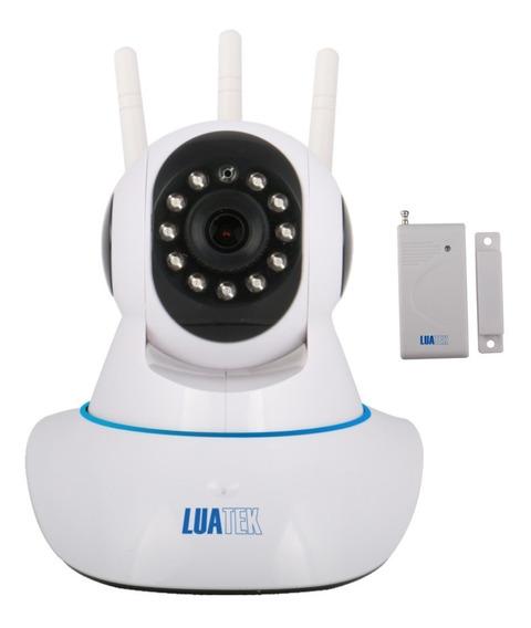 Camera Robo Infra Ip Hd Wifi+sensor Alarme Lkw-1510 Promoção