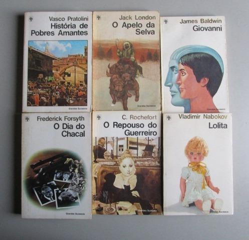6 Livros - Literatura Estrangeira -grandes Sucessos -lote 2