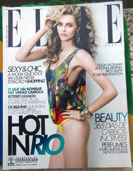 Revista Elle 281 Valentina Zalayeva Hugh Jackmann - Out 2011