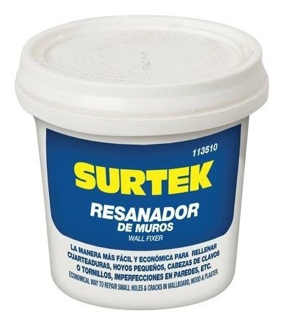 Resanador De Muros 250ml 113510 Surtek