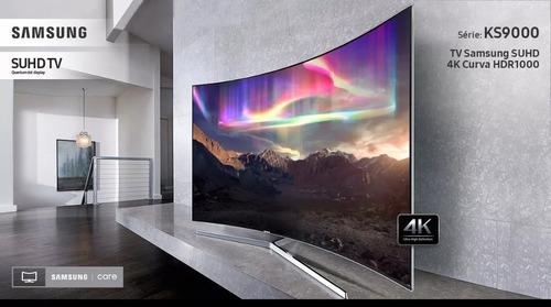 Imagem 1 de 6 de Smart Tv Led 78 Suhd 4k Curva Samsung 78ks9000+nf=8.999,99
