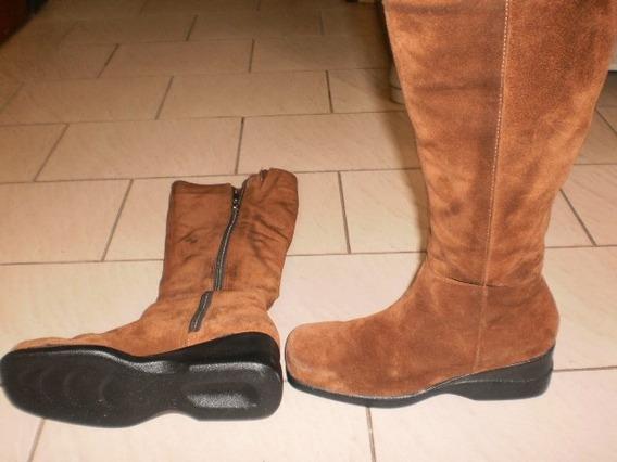 Botas De Mujer De Gamuza - 004 - P1010030