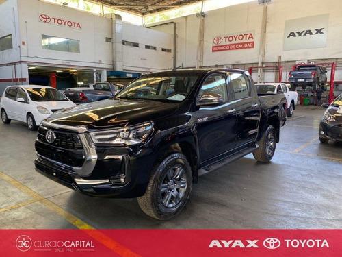 Toyota Hilux Hilux 2021 Srv 4x2 Nafta 2020 Negro 0km