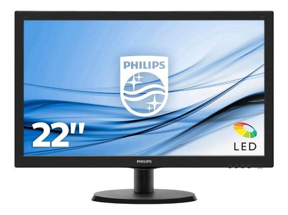 Monitor Philips 22 Full Hd 223v5l Led Hdmi Vga 5ms