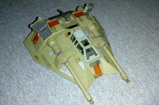Star Wars Action Fleet Snowspeeder (battle Damage)