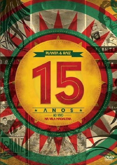 Planta E Raiz 15 Anos Ao Vivo Na Vila Madalena - Dvd Reggae