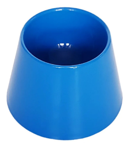 Bebedouro Alto Cachorro Dog Drink Azul Pet Games