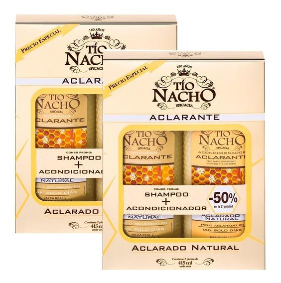 Tio Nacho Aclarante Combo Shampoo + Acondicionador X2