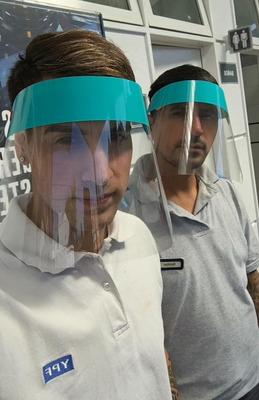 Mascara De Proteccion Facial Barbijo Pack X 50 Unidades