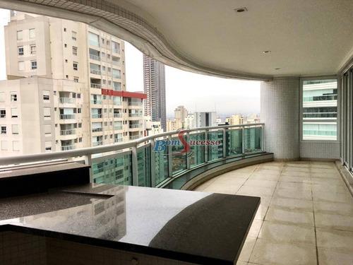 Imagem 1 de 30 de Apartamento Com 4 Dormitórios À Venda, 265 M² Por R$ 2.800.000,00 - Jardim Anália Franco - São Paulo/sp - Ap1161