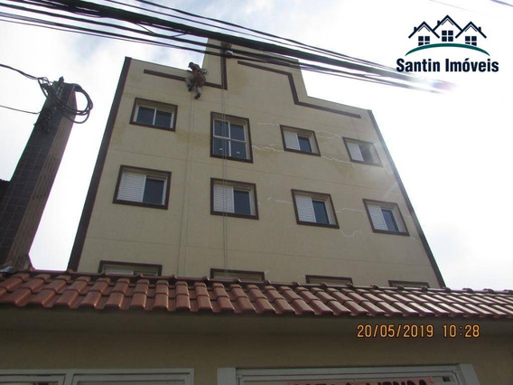 Cobertura Com 3 Dormitórios (01 Suíte )02 Vagas Com Elevador À Venda, 110 M² Por R$ 530.000 - Baeta Neves - São Bernardo Do Campo/sp - Co0357