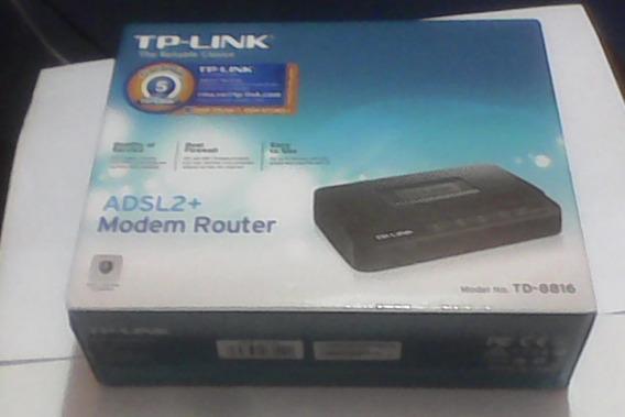 Modem Router Adsl2+ Modelo Td 8816 Tp Link
