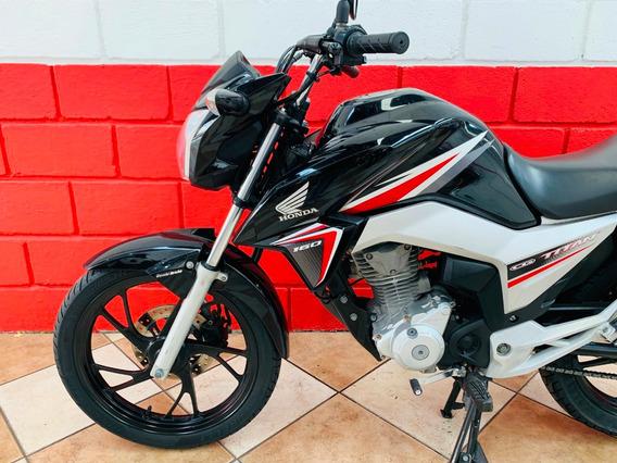 Honda Cg 160 Titan Ex - 2016 - Financiamos - Km 42.000