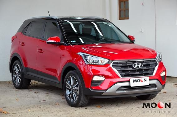 Hyundai Creta 2.0 Pulse Automática Flex 2017 Vermelha Couro