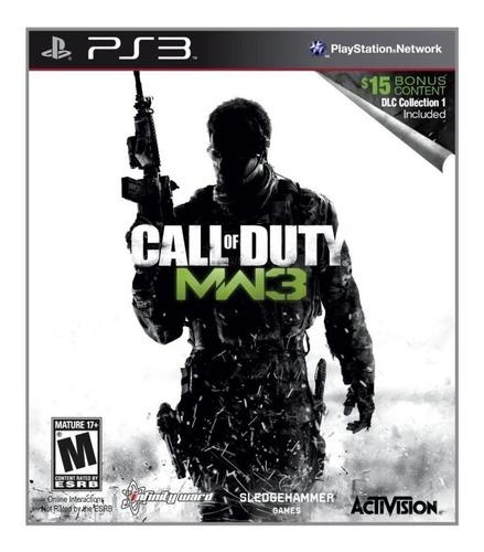 Call Of Duty Modern Warfare 3 Ps3 Físico! Local! Sb