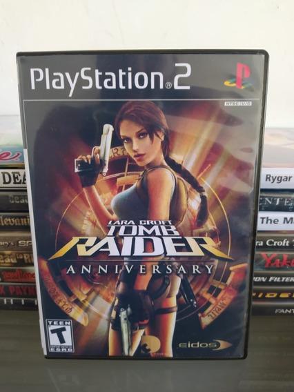 Jogo Tomb Raider: Anniversary - Ps2 Original