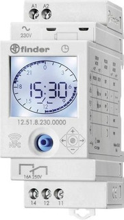 Timer Digital Interruptor Horario Diario/semanal Finder