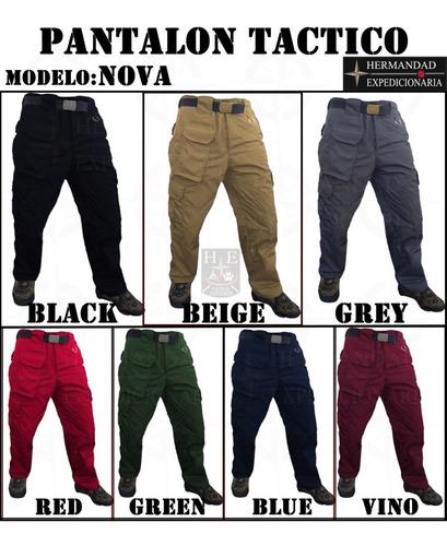 Pantalon Tactico Negro Avanzado Ranger Tactico Mercado Libre