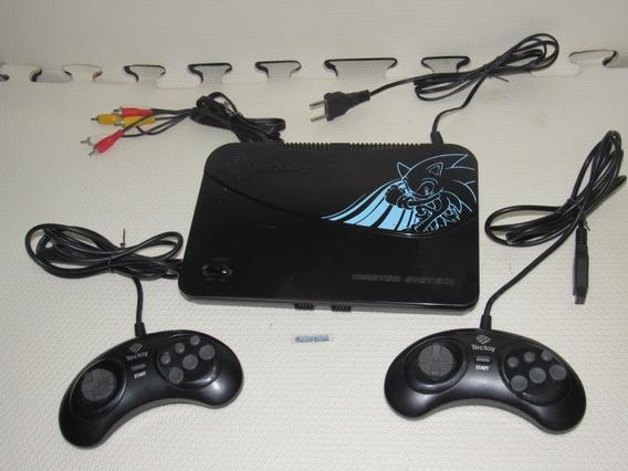 Console Master System Evolution Preto 132 Jogos Na Memoria