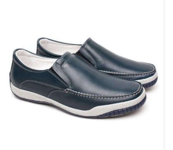Sapato Masculino Anti Stress Ortopédico Palmilha Gel Confort