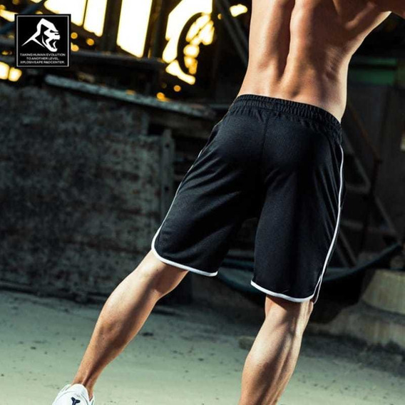 Pantaloneta Gym Culturismo Deporte Fitness Ropa Deportiva