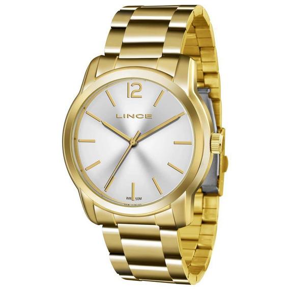 Relógio Lince Feminino Lrg4447l-s2kx Dourado