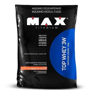 Top Whey 3w 1.8kg - Max Titanium