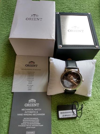Relógio Orient Bambino Bauhaus