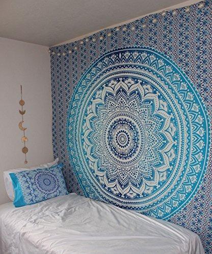 Tapiz Colgante De Pared Decoración Setas y malezas Para Dormitorio Sala Dormitorio