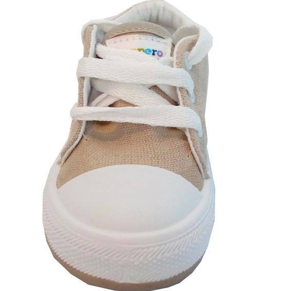 Zapatillas Lona Bebe Marca Pampero Modelo Manu