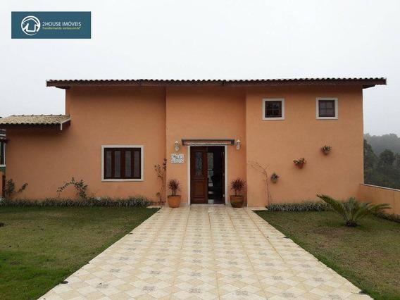 Casa Com 4 Dormitórios À Venda, 350 M² Por R$ 750.000,00 - Condomínio Serra Dos Cristais - Cajamar/sp - Ca2553
