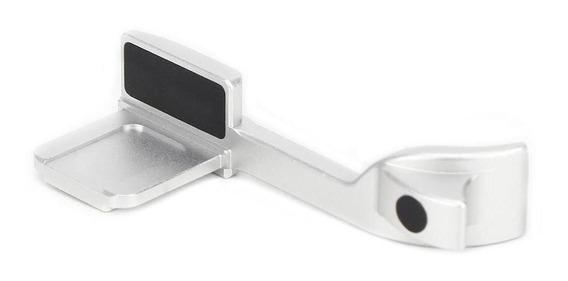 Liga De Alumínio Prata Polegar Alça Do Dedo Para Leica Q/