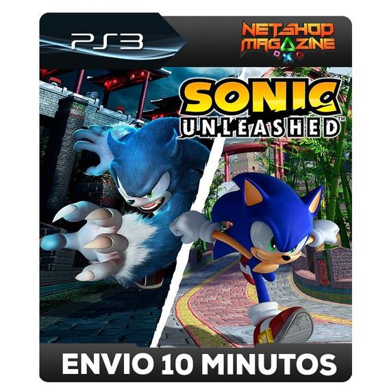 Sonicunleashed - Psn Ps3 - Envio Imediato