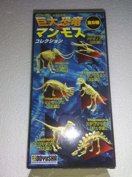 Dinosaurios Mamut Tiranosaurio Velociraptor 6 Figuras