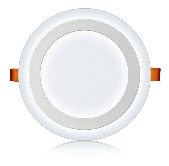 Luminária Led Redonda Embutir 3 Estágios Elgin (18w + 6w)