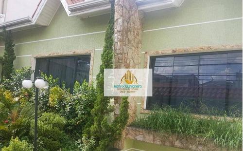 Imagem 1 de 17 de Excelente Sobrado-03 Dormitórios-01 Suíte-05 Vagas- Aceita Financiamento - So0026